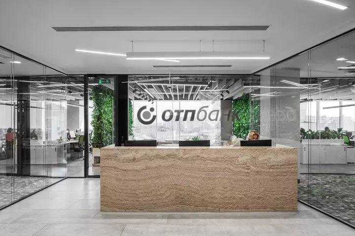 办公空间:OTP银行莫斯科办公设计|ABDArchitects