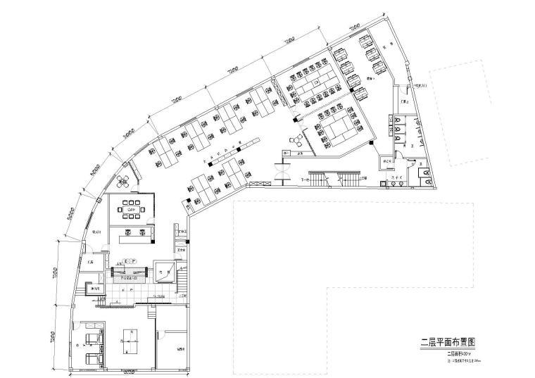 [浙江]利百加设计-利华奥迪办公室室内设计施工图+效果图