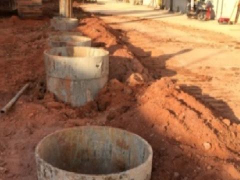 "[QC成果]提升基坑围护结构""干作业旋挖钻孔灌注桩""垂直度"