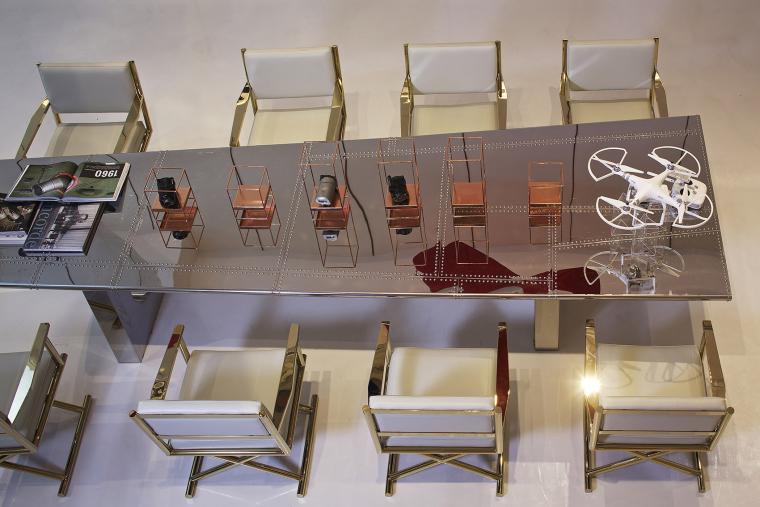 """[北京無象空间]景粼-野马会客厅:""""与设计无关-大鸟""""丨无中生有的幻想空间丨17P"""