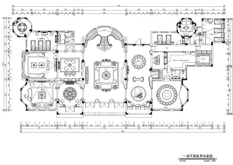 [重庆]重庆城建-永川26号楼会所施工图+效果图