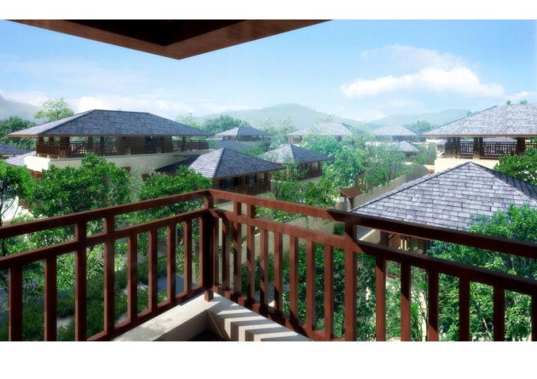 龙湖小院青城方案建筑模型设计
