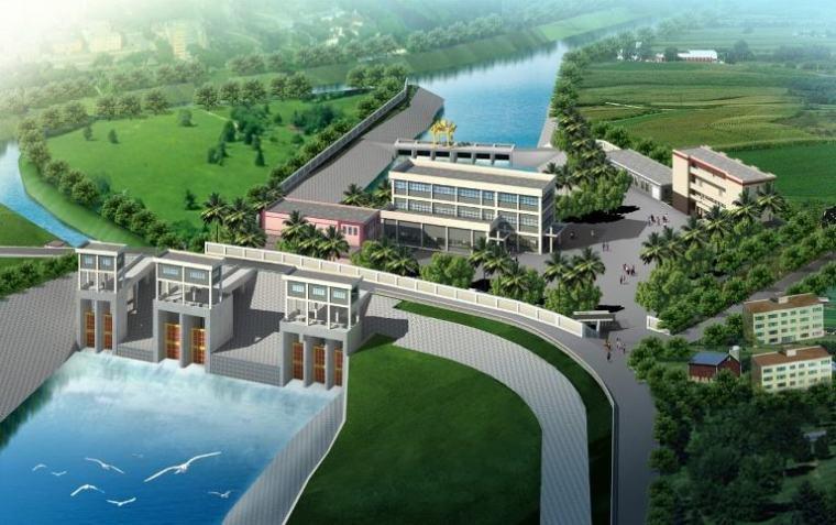 安装工程bim策划书资料下载-泵站建筑安装工程安全文明施工管理策划书