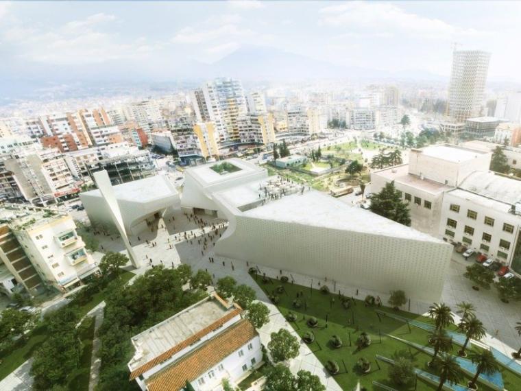 阿尔巴尼亚大型文化中心