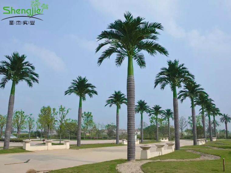 仿真椰子树厂家制作和造景
