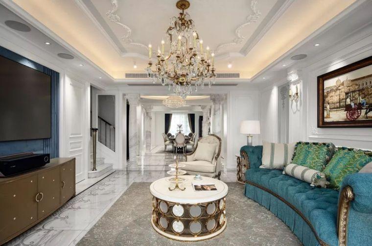320㎡复式别墅设计,处处彰显家的温馨与浪漫!
