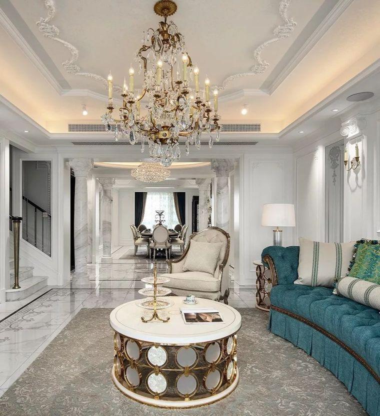 320㎡复式别墅设计,处处彰显家的温馨与浪漫!_3