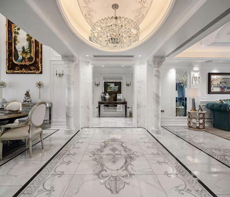 320㎡复式别墅设计,处处彰显家的温馨与浪漫!_2