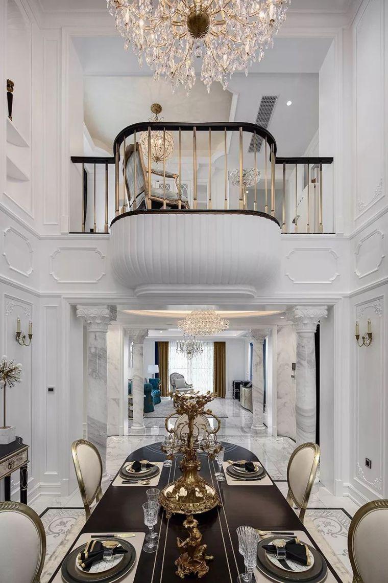 320㎡复式别墅设计,处处彰显家的温馨与浪漫!_5