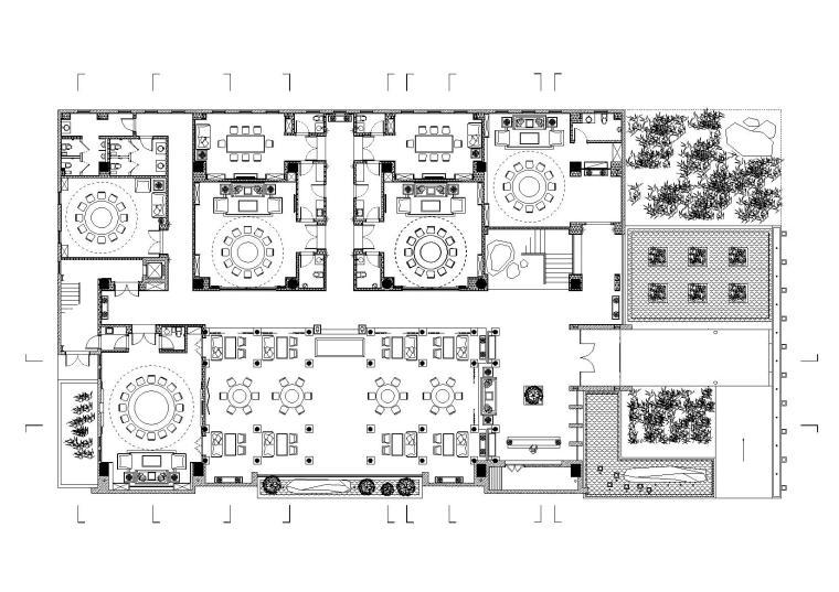 [郑州]鼎合-苏园一号室内外装饰工程施工图+效果图