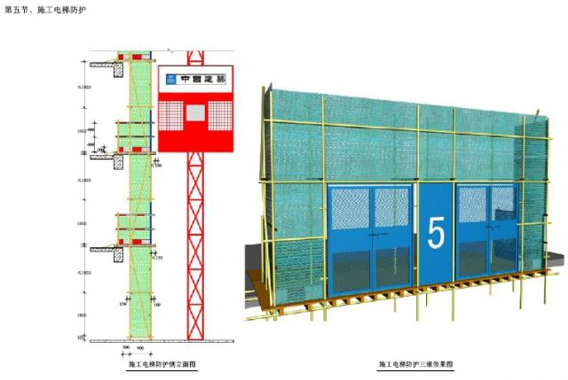78施工电梯防护