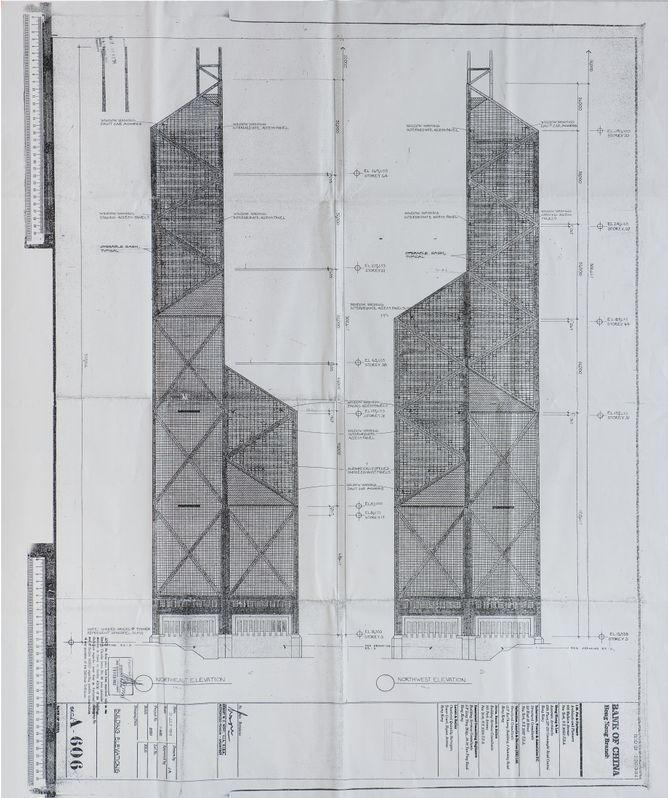 [行业案例]香港中国银行大厦建筑设计图副本