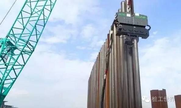 钢板桩在建筑工程中的妙用