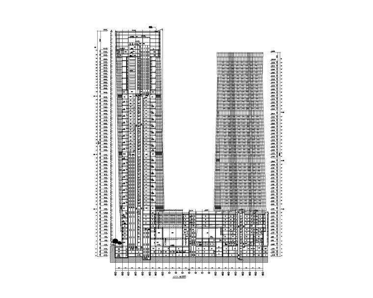 建筑剖面图2
