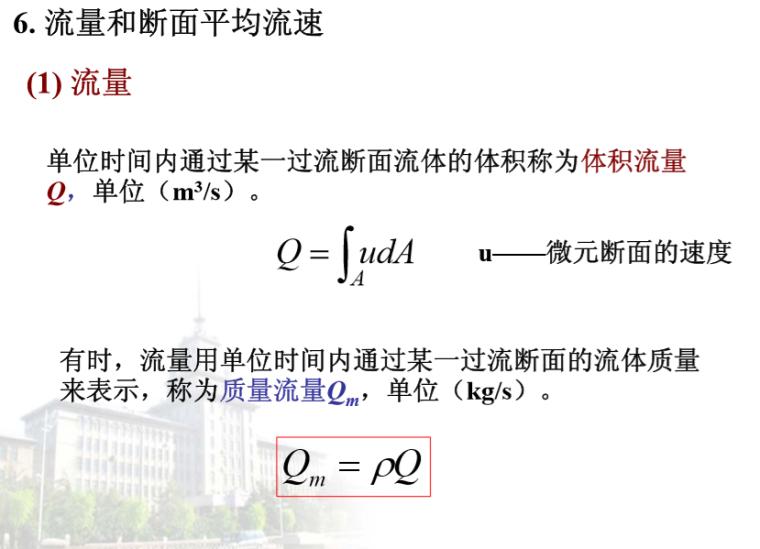 建筑设备(水)-流体动力学(哈工大)