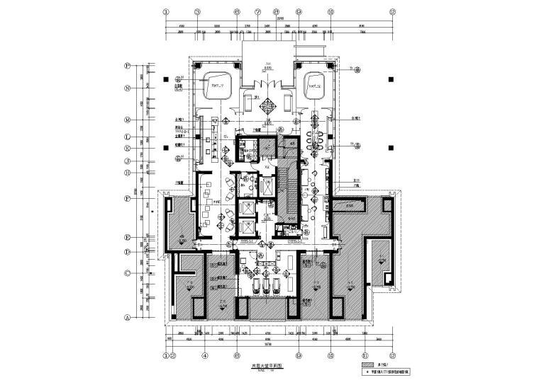 [郑州]梁建国-郑州建业天筑大堂+交楼标准样板丨施工图+材料表+官方摄影