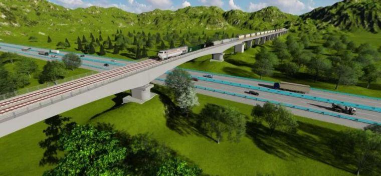铁路连续梁转体桥BIM建模方法