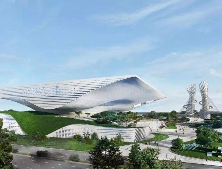 邢台科技馆建筑景观设计,净化雾霾的新地标~
