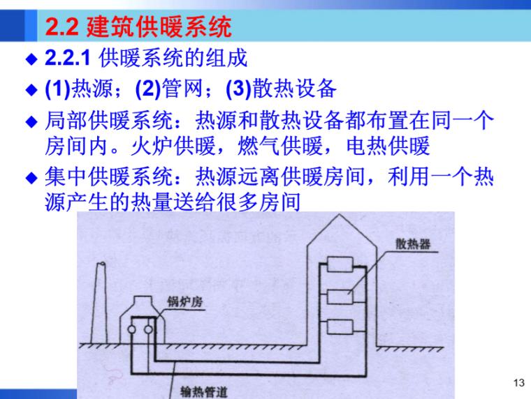 暖通空调工程-建筑供暖一(哈工大)