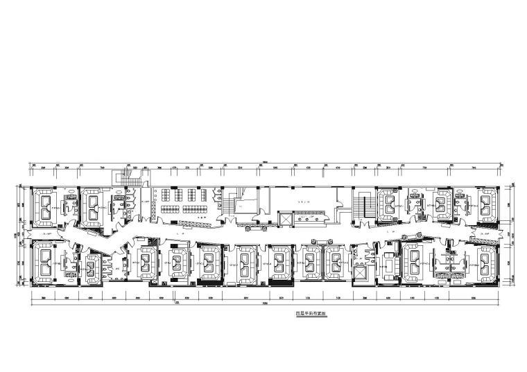 [山东]元美组-郓城夜总会CAD施工图+效果图