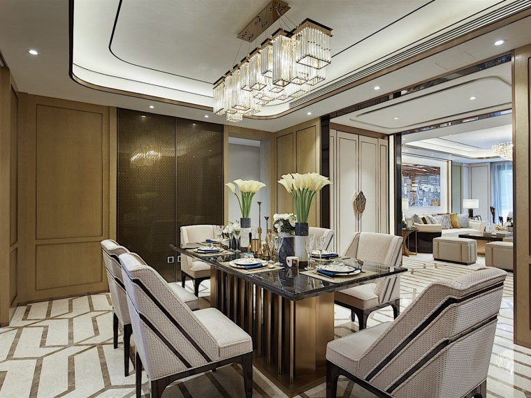 上海上实发展泰府名邸AB户型精装样板房