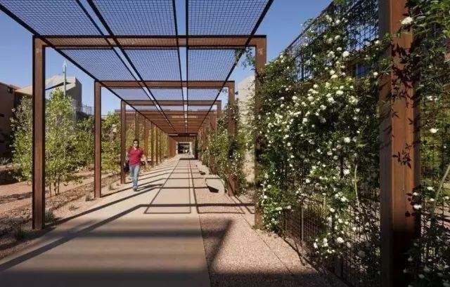 70款·各式景观花架,配上各种藤蔓植物,简直要美翻了!_23