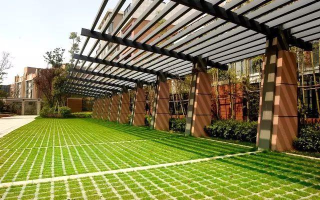 70款·各式景观花架,配上各种藤蔓植物,简直要美翻了!_25