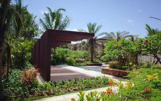 70款·各式景观花架,配上各种藤蔓植物,简直要美翻了!_30
