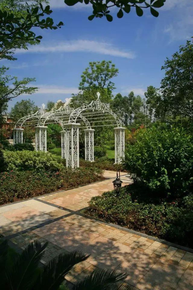 70款·各式景观花架,配上各种藤蔓植物,简直要美翻了!_33