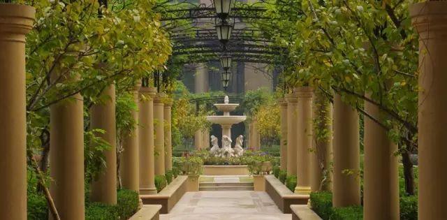 70款·各式景观花架,配上各种藤蔓植物,简直要美翻了!_34