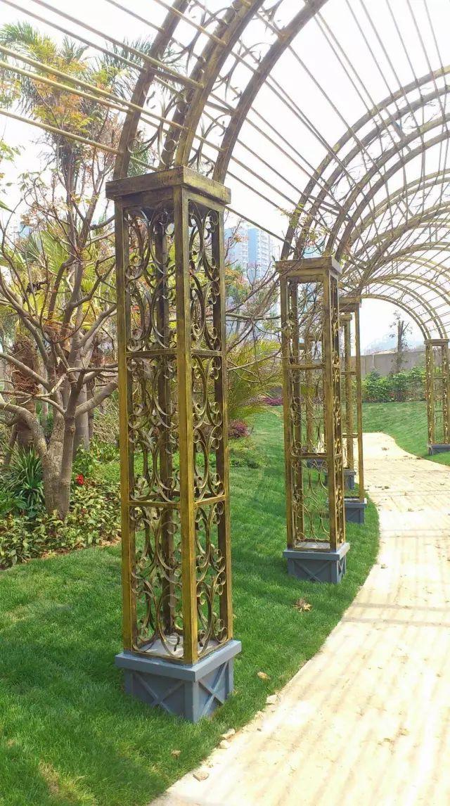 70款·各式景观花架,配上各种藤蔓植物,简直要美翻了!_59