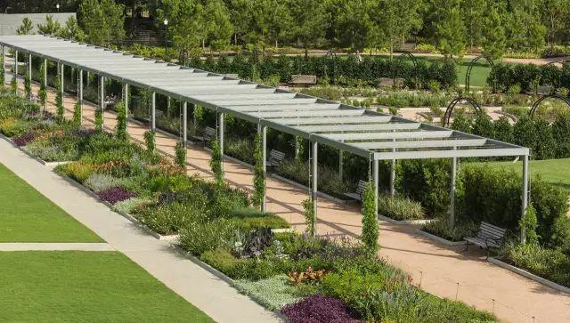 70款·各式景观花架,配上各种藤蔓植物,简直要美翻了!_65
