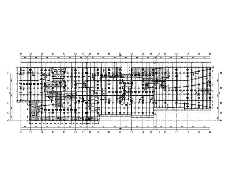 [上海]8层钢混框架+钢框架公寓式酒店建筑结构施工图(2015)