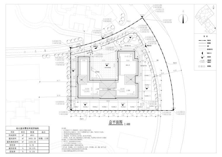 [惠州]12班幼儿园方案文本+建筑施工图(JPG+CAD)