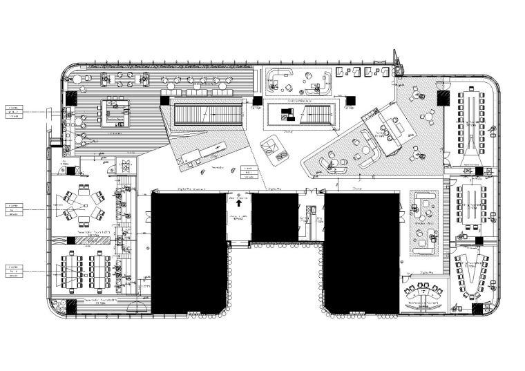 [上海]阿迪达斯上海新办公室效果图+方案+平面图+投标文件