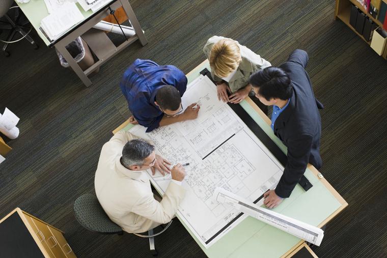 10年施工图经验,4大项目案例,1套绘图模板,教你快速出图!