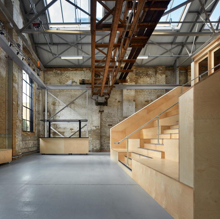 英国Forge办公室和展览建筑-Emrys_Craft_Central_at_The_Forge_12