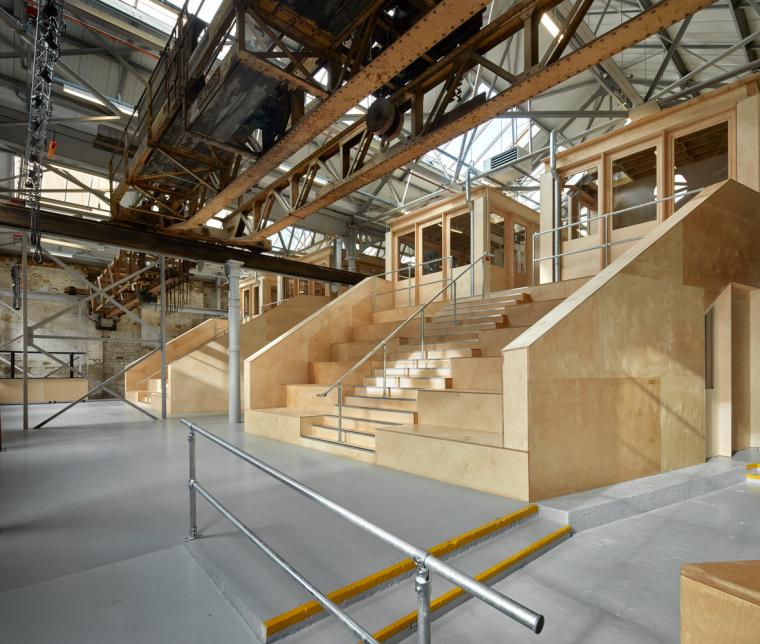 英国Forge办公室和展览建筑-Emrys_Craft_Central_at_The_Forge_11