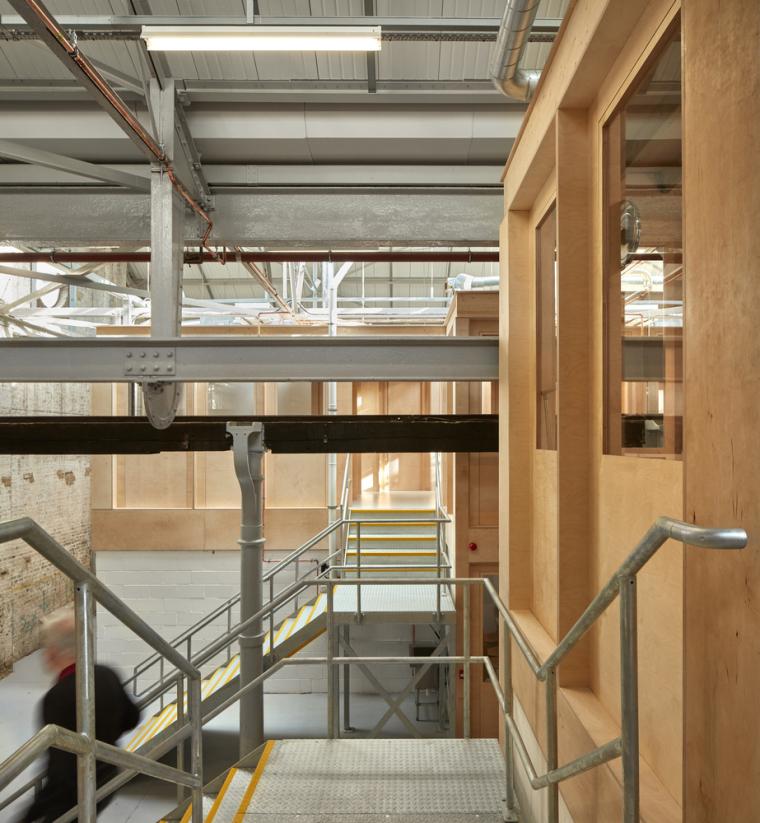 英国Forge办公室和展览建筑-Emrys_Craft_Central_at_The_Forge_14