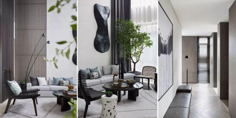 269 m² 静美别墅,高级灰演绎当代都市智慧人居