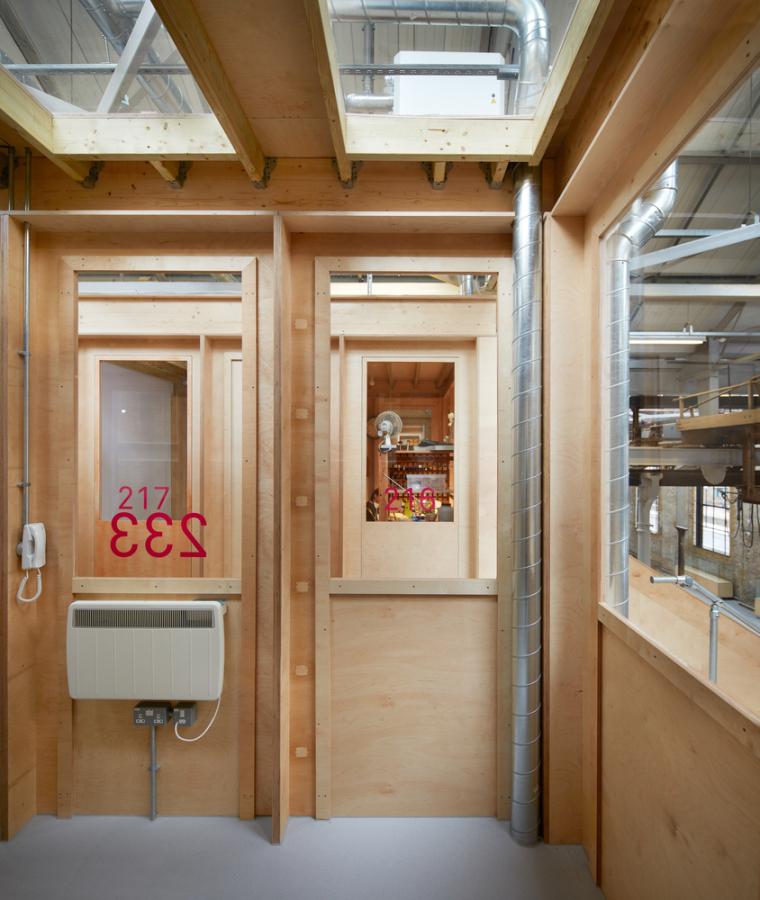 英国Forge办公室和展览建筑-Emrys_Craft_Central_at_The_Forge_19