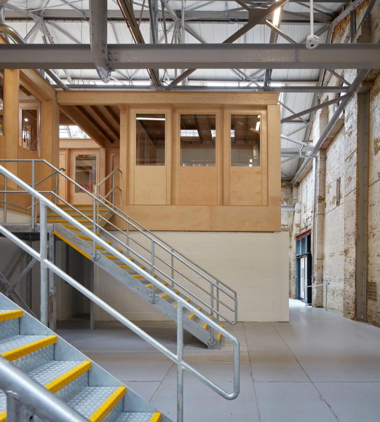 英国Forge办公室和展览建筑-Emrys_Craft_Central_at_The_Forge_23