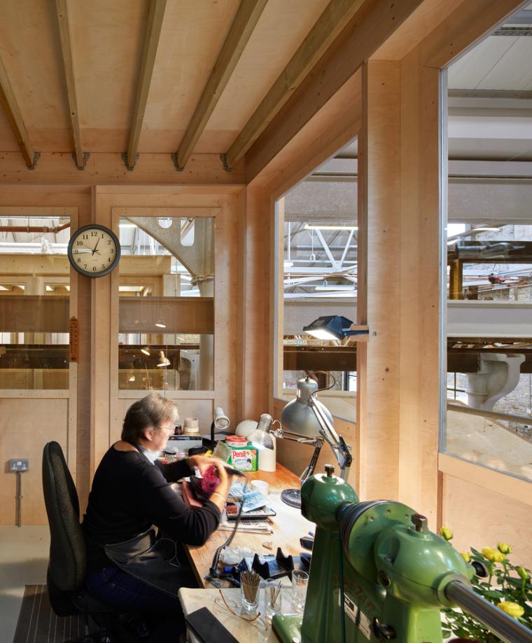 英国Forge办公室和展览建筑-Emrys_Craft_Central_at_The_Forge_24