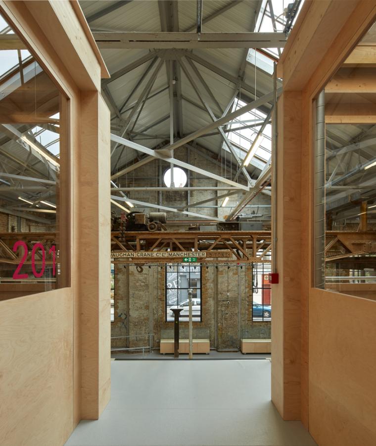 英国Forge办公室和展览建筑-Emrys_Craft_Central_at_The_Forge_26