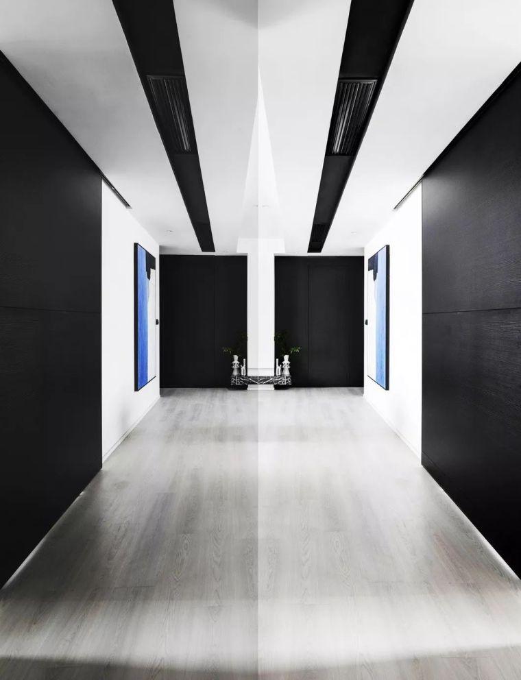 130㎡大户型个性简约风,利用镜子反射效果扩大视觉空间!