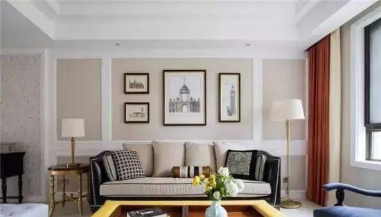 80㎡小户型客厅这样装,不贵又好看!