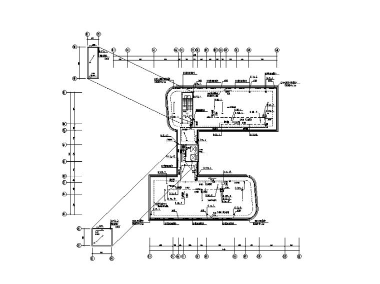广东科研办公楼给排水设计施工图