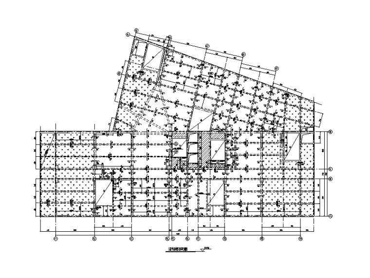 商业中心高层建筑结构施工图(2015)