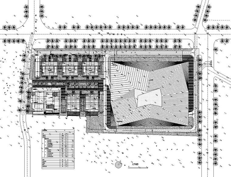 [山东]现代风格海尔企业办公楼建筑施工图设计(CAD)