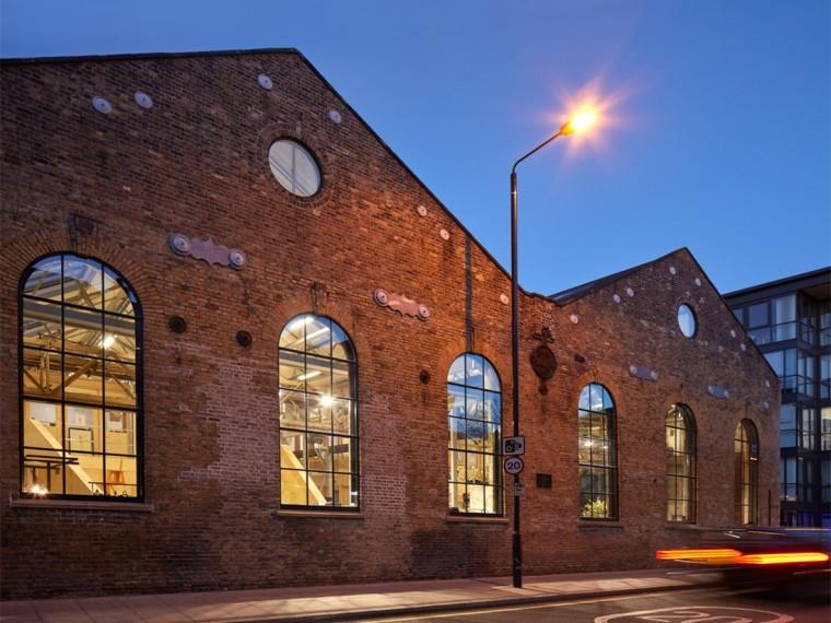 IND建筑事务所办公室资料下载-英国Forge办公室和展览建筑